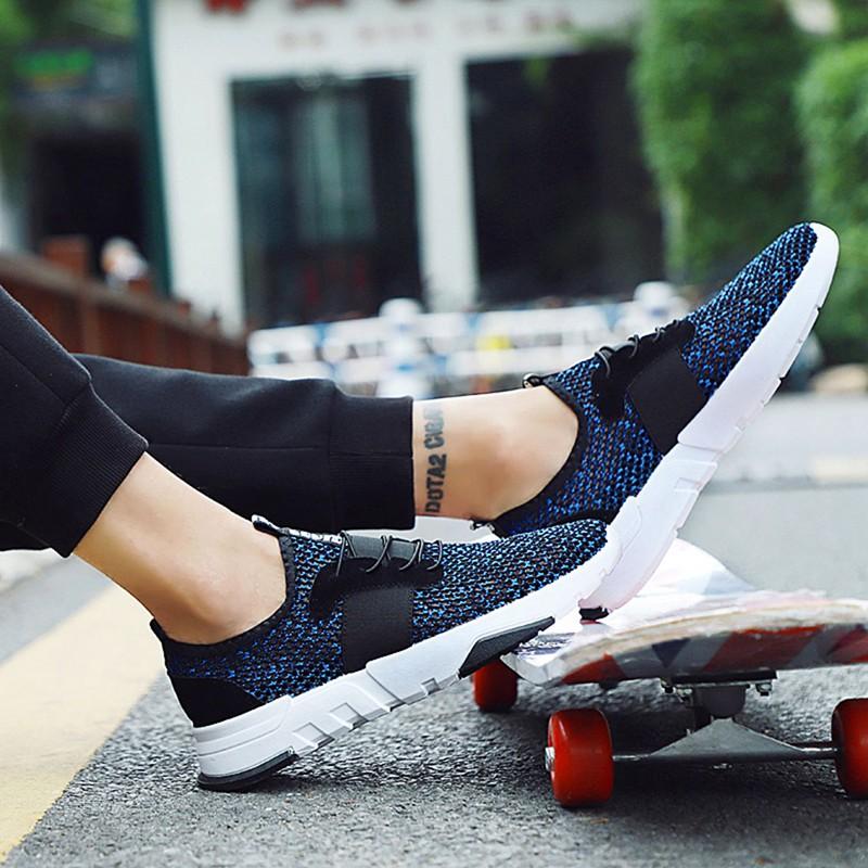 Mesh-Breathable-Men-Shoes-Walking-Men-Sneaker-Comfort-Run-Athletic-Shoe-Sof-E4S3 thumbnail 8