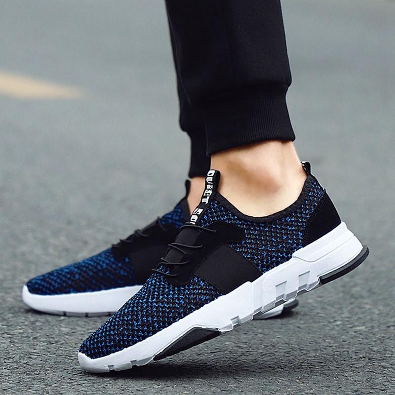 Mesh-Breathable-Men-Shoes-Walking-Men-Sneaker-Comfort-Run-Athletic-Shoe-Sof-E4S3 thumbnail 9