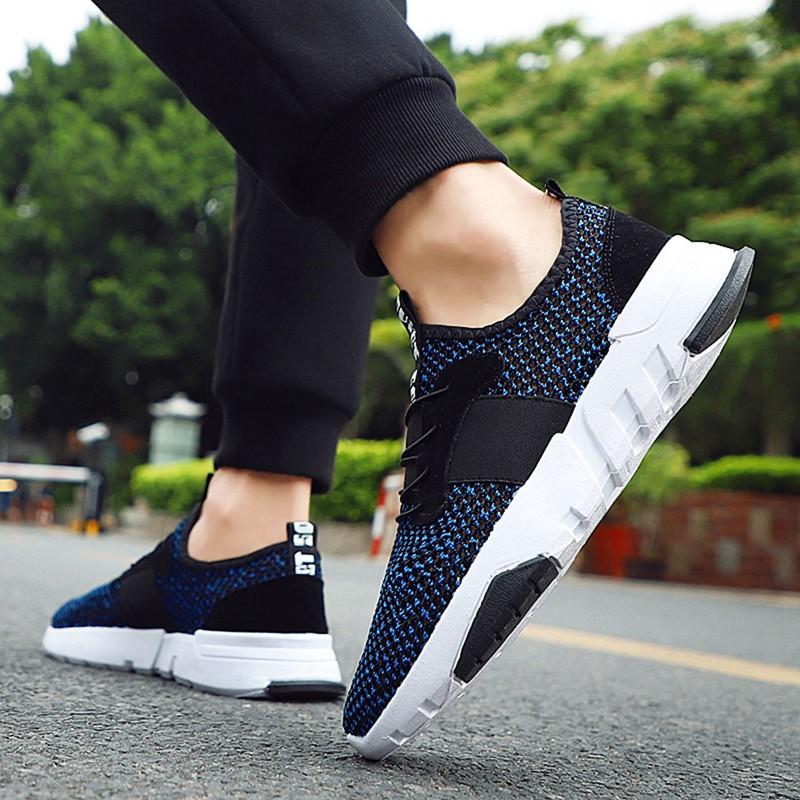 Mesh-Breathable-Men-Shoes-Walking-Men-Sneaker-Comfort-Run-Athletic-Shoe-Sof-E4S3 thumbnail 10