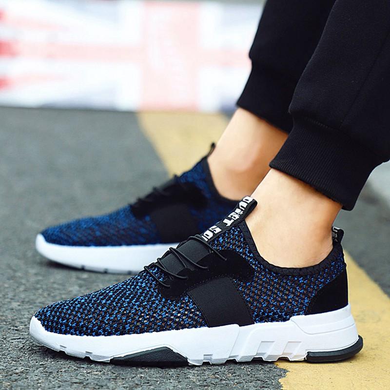 Mesh-Breathable-Men-Shoes-Walking-Men-Sneaker-Comfort-Run-Athletic-Shoe-Sof-E4S3 thumbnail 11