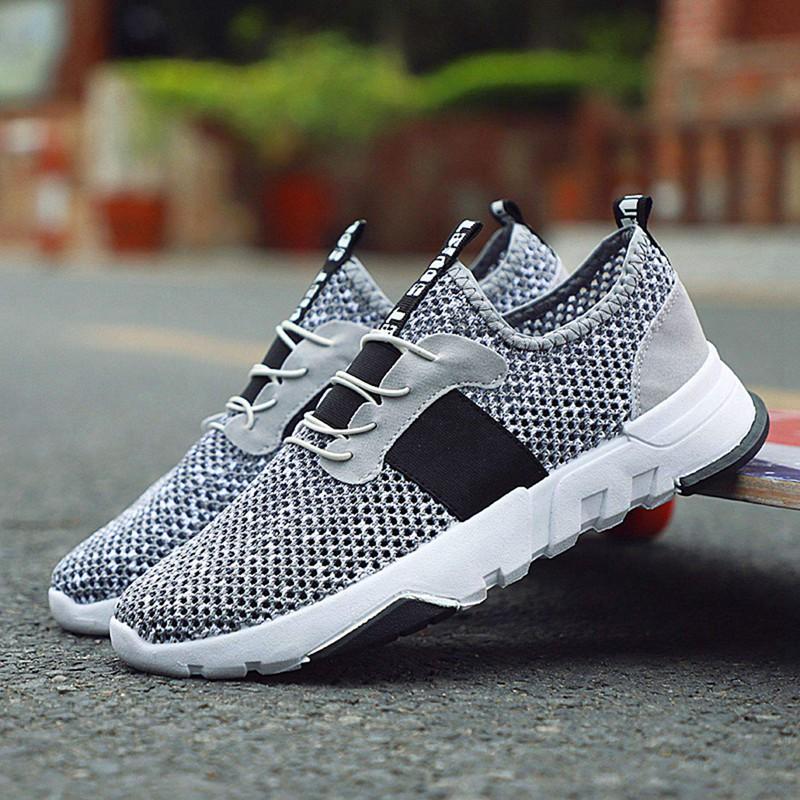 Mesh-Breathable-Men-Shoes-Walking-Men-Sneaker-Comfort-Run-Athletic-Shoe-Sof-E4S3 thumbnail 14
