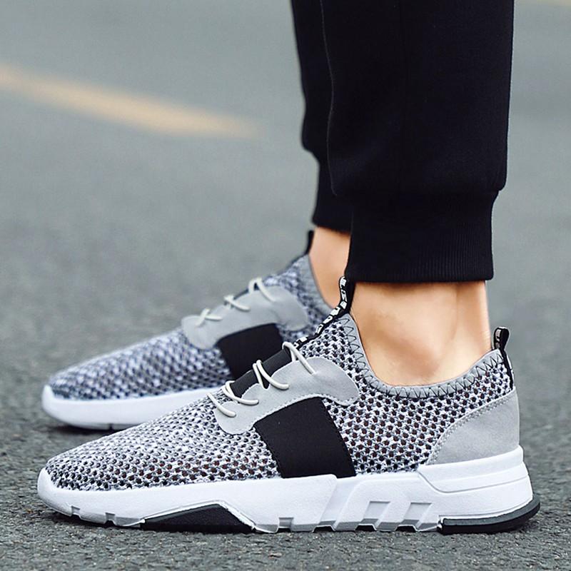 Mesh-Breathable-Men-Shoes-Walking-Men-Sneaker-Comfort-Run-Athletic-Shoe-Sof-E4S3 thumbnail 17