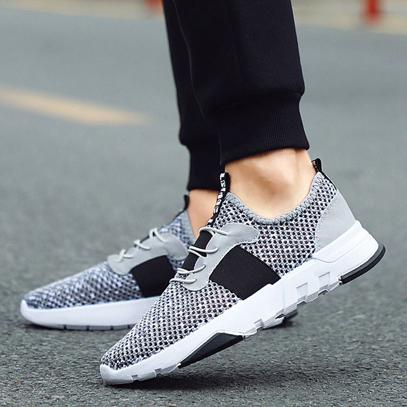 Mesh-Breathable-Men-Shoes-Walking-Men-Sneaker-Comfort-Run-Athletic-Shoe-Sof-E4S3 thumbnail 18