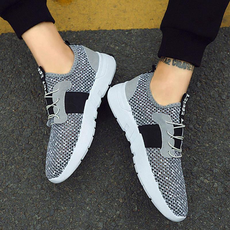 Mesh-Breathable-Men-Shoes-Walking-Men-Sneaker-Comfort-Run-Athletic-Shoe-Sof-E4S3 thumbnail 20