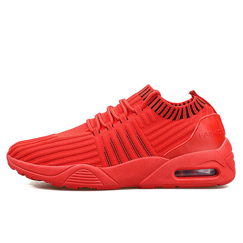 Men-039-s-Running-Shoes-Light-Training-Shoes-Mesh-Breathable-Male-Shoes-Lace-Up-L3E7 thumbnail 3