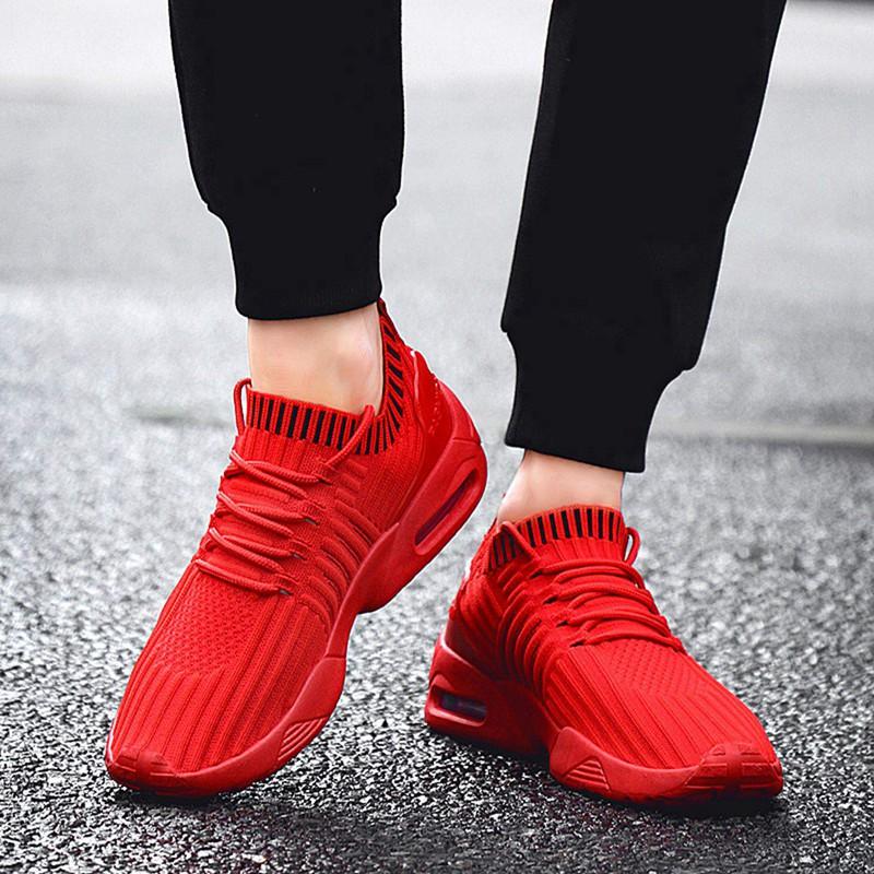 Men-039-s-Running-Shoes-Light-Training-Shoes-Mesh-Breathable-Male-Shoes-Lace-Up-L3E7 thumbnail 7
