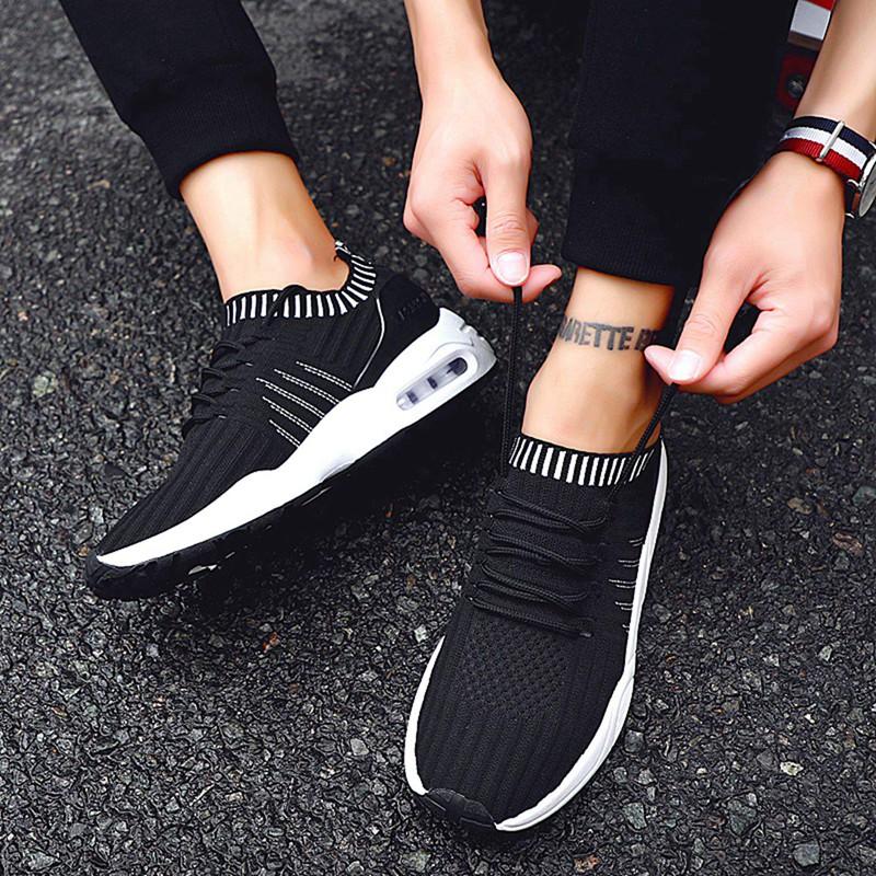 Men-039-s-Running-Shoes-Light-Training-Shoes-Mesh-Breathable-Male-Shoes-Lace-Up-L3E7 thumbnail 19