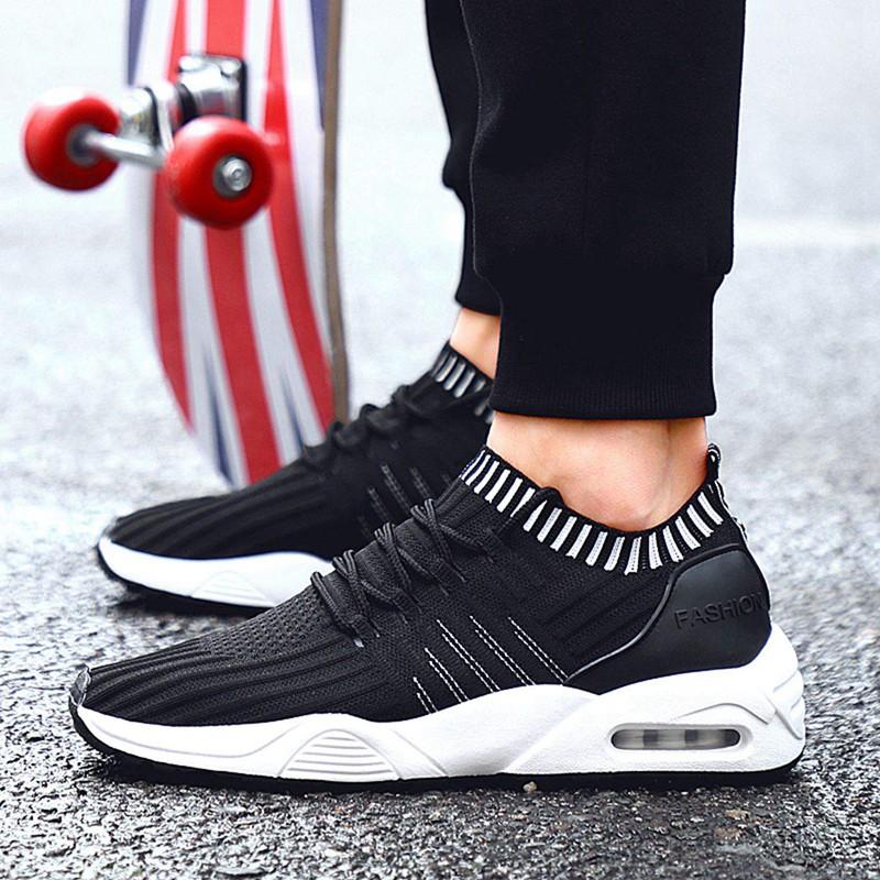 Men-039-s-Running-Shoes-Light-Training-Shoes-Mesh-Breathable-Male-Shoes-Lace-Up-L3E7 thumbnail 20