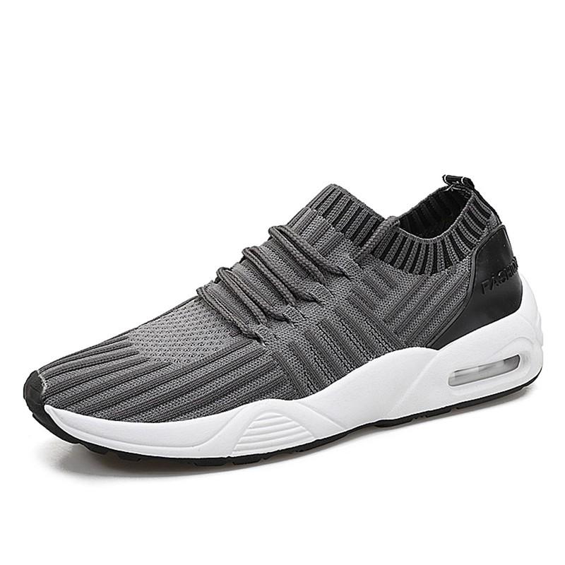 Men-039-s-Running-Shoes-Light-Training-Shoes-Mesh-Breathable-Male-Shoes-Lace-Up-L3E7 thumbnail 23
