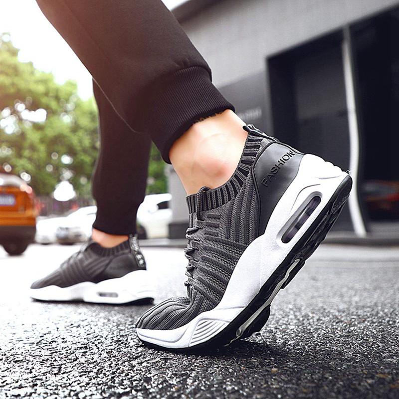 Men-039-s-Running-Shoes-Light-Training-Shoes-Mesh-Breathable-Male-Shoes-Lace-Up-L3E7 thumbnail 29