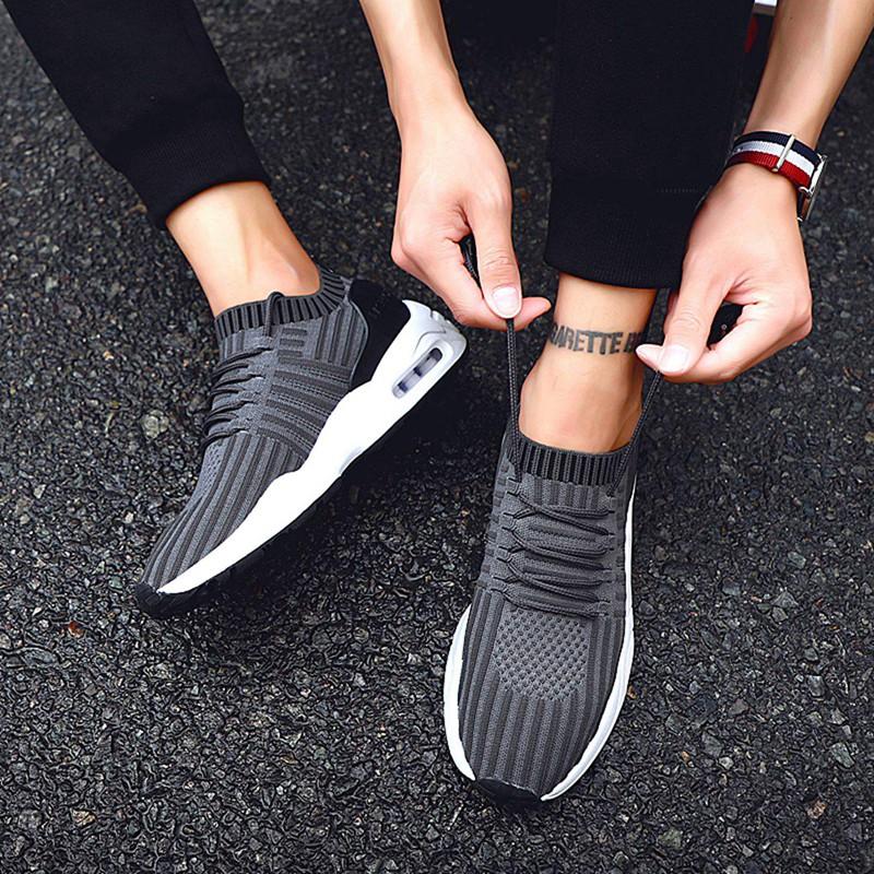 Men-039-s-Running-Shoes-Light-Training-Shoes-Mesh-Breathable-Male-Shoes-Lace-Up-L3E7 thumbnail 31