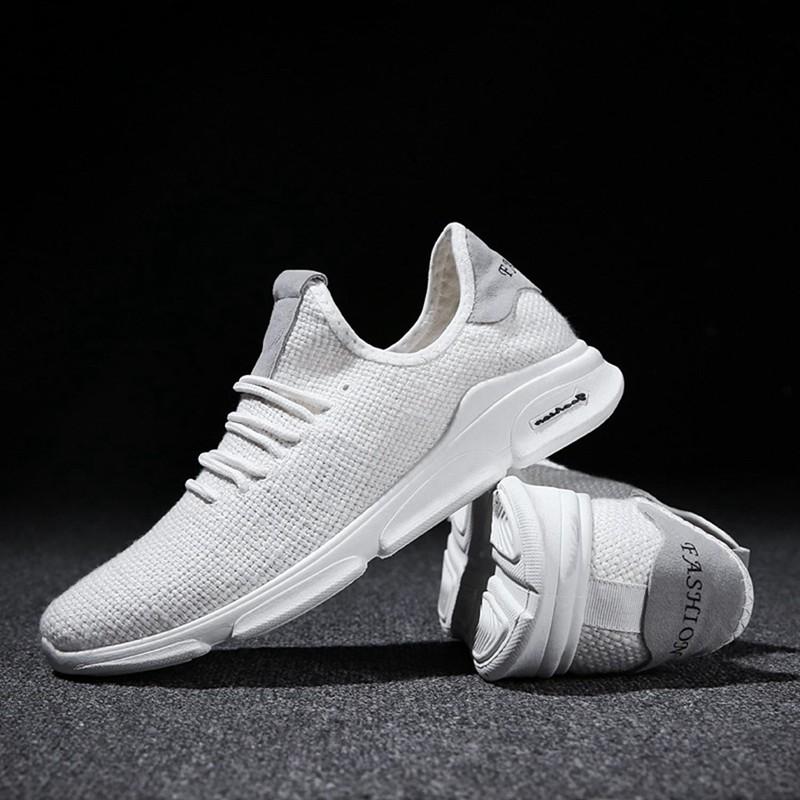Flax-Mesh-Breathable-Men-Running-Shoes-Walking-Men-Sneaker-Comfort-Run-Athl-L9O5 thumbnail 5