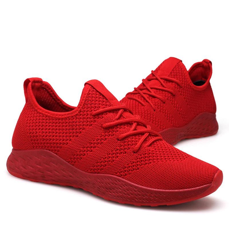 1X-Chaussures-de-course-pour-hommes-Maille-Respirant-Chaussures-pour-hommes-X1R7 miniature 3