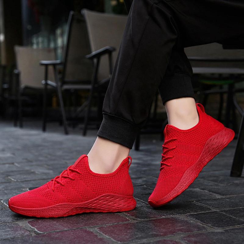 1X-Chaussures-de-course-pour-hommes-Maille-Respirant-Chaussures-pour-hommes-X1R7 miniature 11
