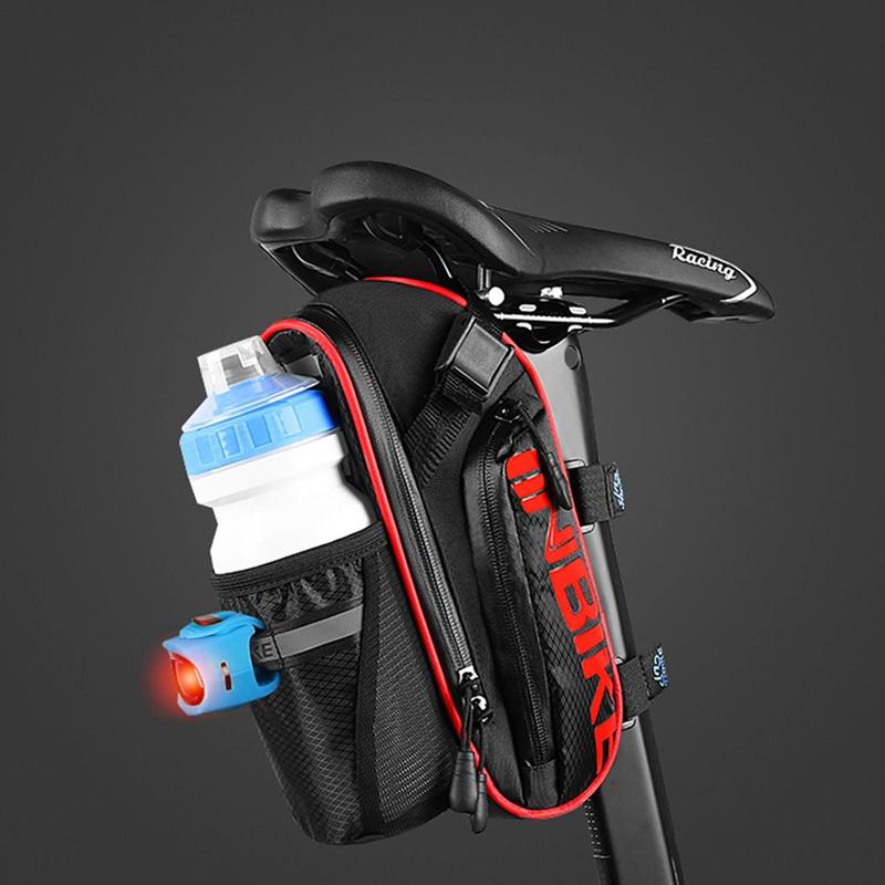 INBIKE-Bolsa-de-sillin-bicicleta-trasera-MTB-impermeable-cola-para-ciclista-tiP8 miniatura 15