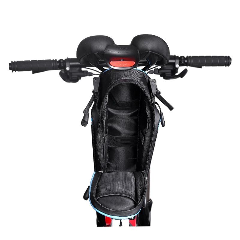 INBIKE-Bolsa-de-sillin-bicicleta-trasera-MTB-impermeable-cola-para-ciclista-tiP8 miniatura 26