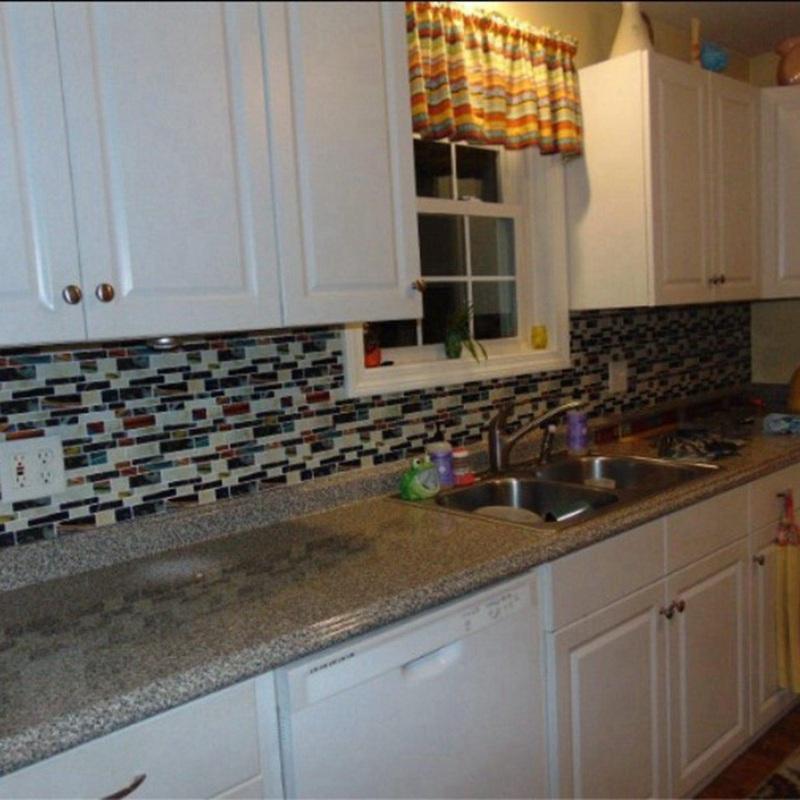 selbstklebende mosaik fliesen wand aufkleber aufkleber diy On selbstklebende fliesen kuche