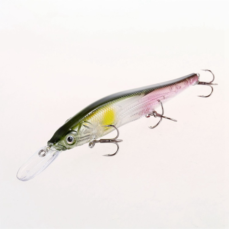 Senuelos-de-pesca-manivela-minnow-11cm-14g-Sistema-de-peso-de-tungsteno-C-L2N3 miniatura 4
