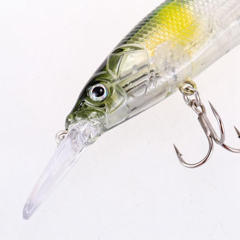 Senuelos-de-pesca-manivela-minnow-11cm-14g-Sistema-de-peso-de-tungsteno-C-L2N3 miniatura 5