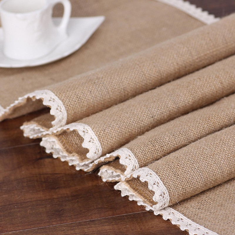 Party-supplies-linen-table-runner-flag-lace-table-runner-table-Christmas-we-T7N2 thumbnail 3