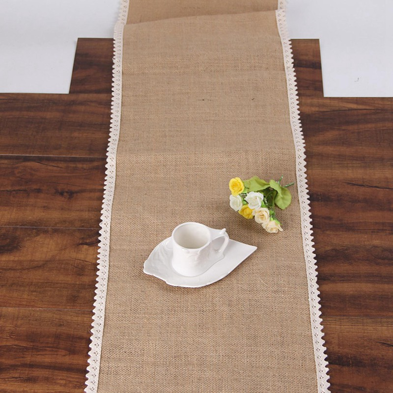 Party-supplies-linen-table-runner-flag-lace-table-runner-table-Christmas-we-T7N2 thumbnail 5