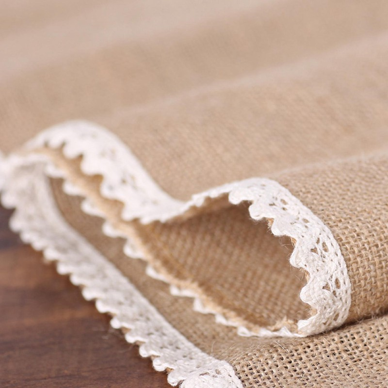 Party-supplies-linen-table-runner-flag-lace-table-runner-table-Christmas-we-T7N2 thumbnail 8