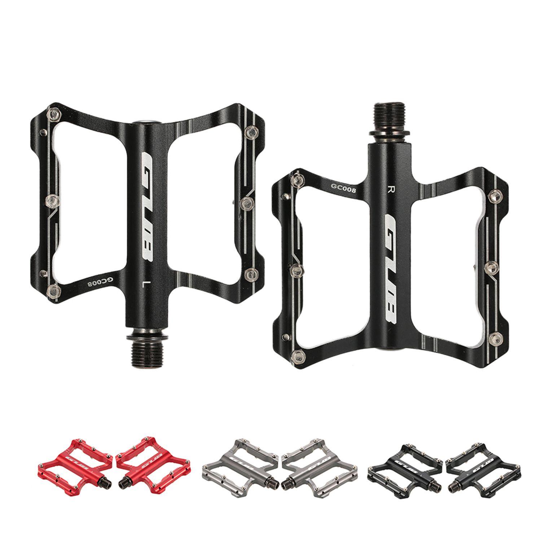 GUB-En-Aluminium-Pedales-De-Velo-Pour-VTT-Antiderapant-Pedale-De-Bicyclette-3G1 miniature 4