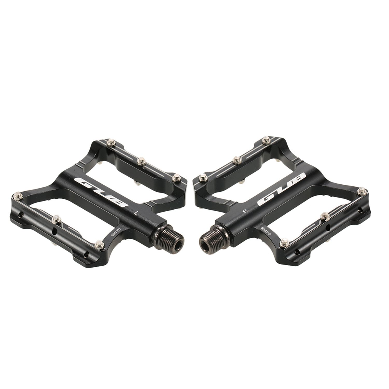 GUB-En-Aluminium-Pedales-De-Velo-Pour-VTT-Antiderapant-Pedale-De-Bicyclette-3G1 miniature 5