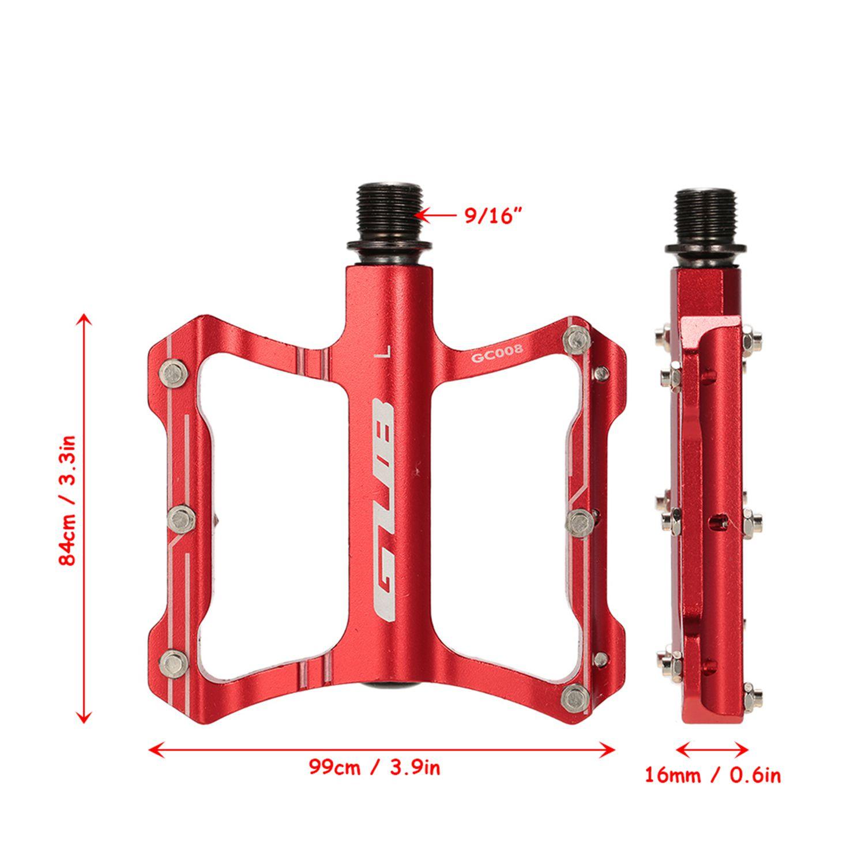 GUB-En-Aluminium-Pedales-De-Velo-Pour-VTT-Antiderapant-Pedale-De-Bicyclette-3G1 miniature 12