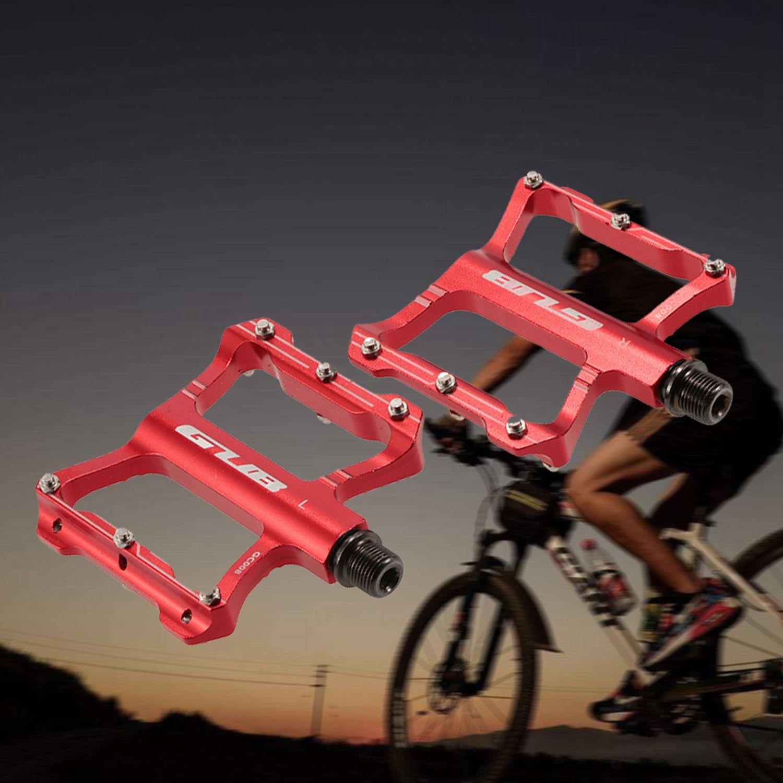 GUB-En-Aluminium-Pedales-De-Velo-Pour-VTT-Antiderapant-Pedale-De-Bicyclette-3G1 miniature 14