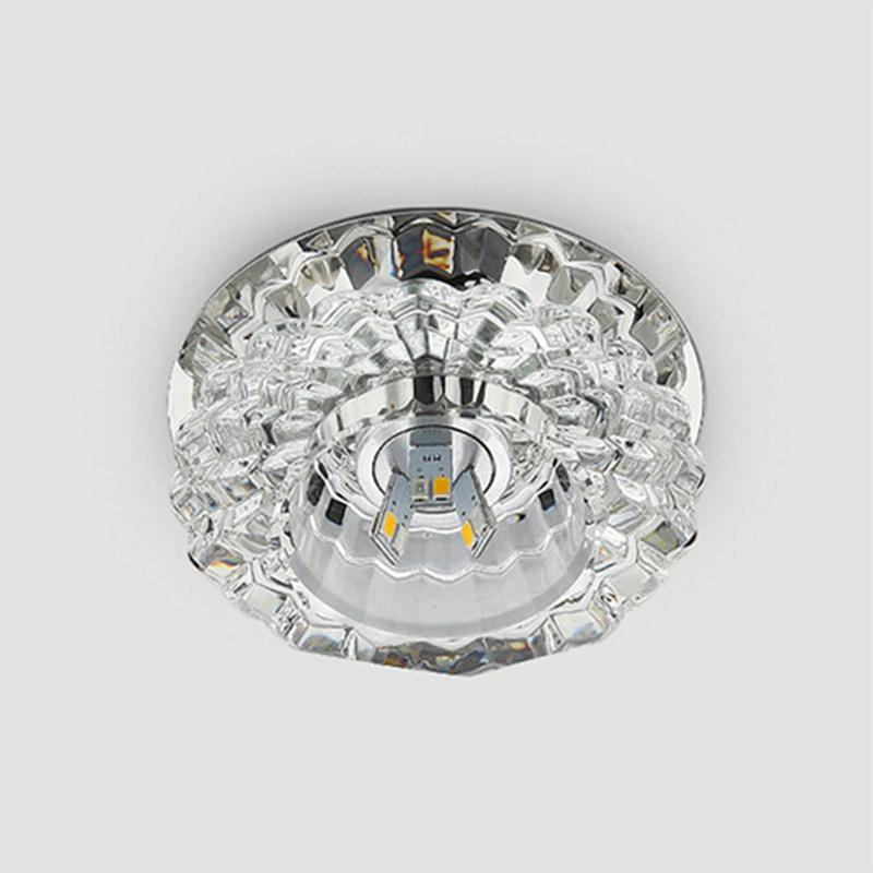 1X-Allee-Flush-LED-plafonnier-la-salle-de-sejour-cristal-couloir-Allee-lumi-C2D7 miniature 20