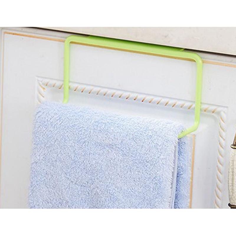 thumbnail 3 - 1X-1Pc-Kitchen-Organizer-Towel-Rack-Hanging-Holder-Bathroom-Cabinet-Cupboa-W3F3