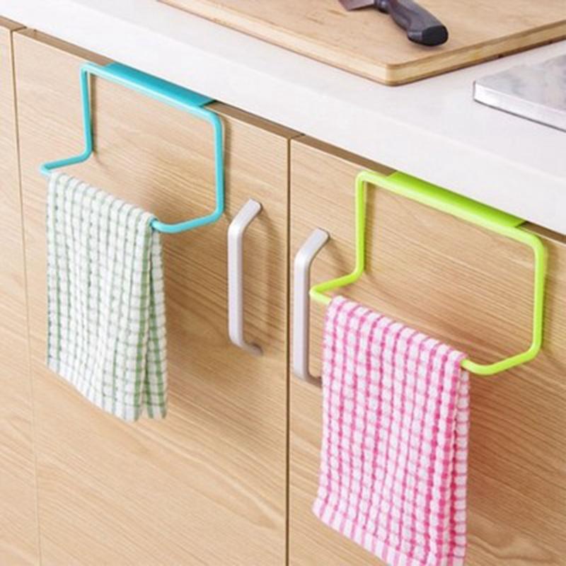 thumbnail 4 - 1X-1Pc-Kitchen-Organizer-Towel-Rack-Hanging-Holder-Bathroom-Cabinet-Cupboa-W3F3