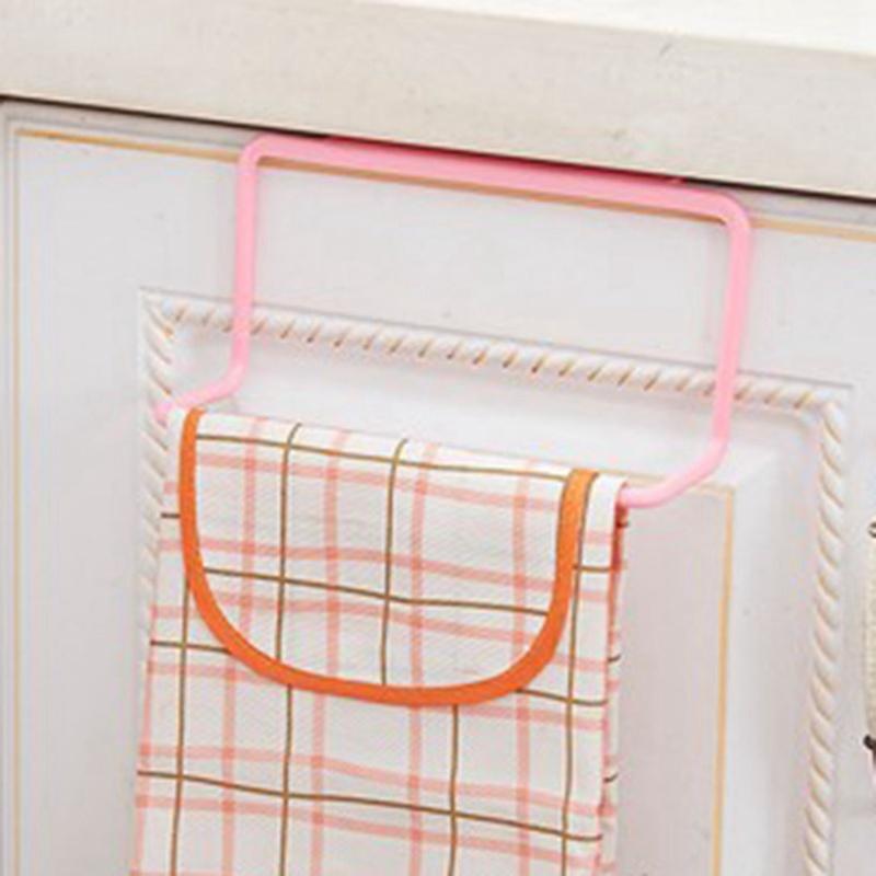 thumbnail 6 - 1X-1Pc-Kitchen-Organizer-Towel-Rack-Hanging-Holder-Bathroom-Cabinet-Cupboa-W3F3