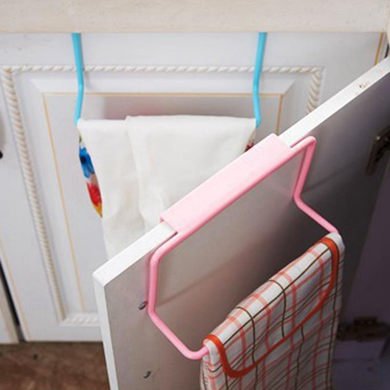 thumbnail 7 - 1X-1Pc-Kitchen-Organizer-Towel-Rack-Hanging-Holder-Bathroom-Cabinet-Cupboa-W3F3