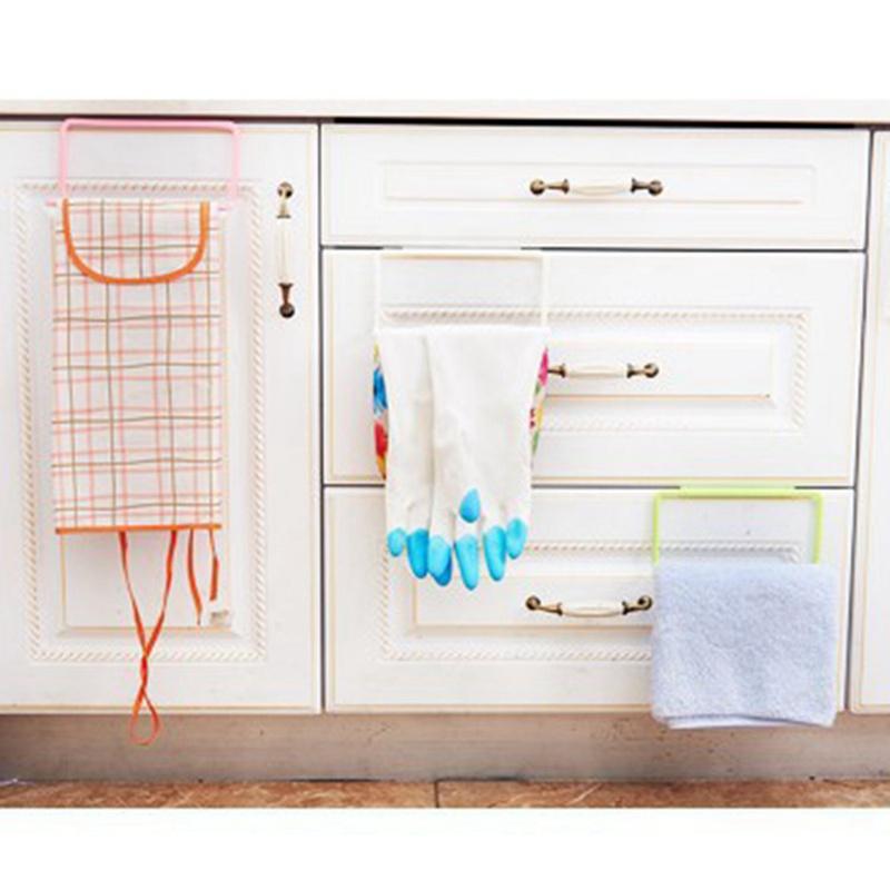 thumbnail 8 - 1X-1Pc-Kitchen-Organizer-Towel-Rack-Hanging-Holder-Bathroom-Cabinet-Cupboa-W3F3
