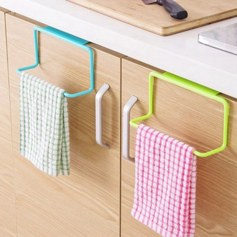 thumbnail 11 - 1Pc-Kitchen-Organizer-Towel-Rack-Hanging-Holder-Bathroom-Cabinet-Cupboard-H-D3Y5