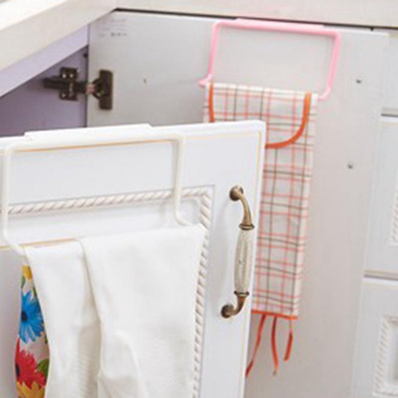 thumbnail 18 - 1Pc-Kitchen-Organizer-Towel-Rack-Hanging-Holder-Bathroom-Cabinet-Cupboard-H-D3Y5