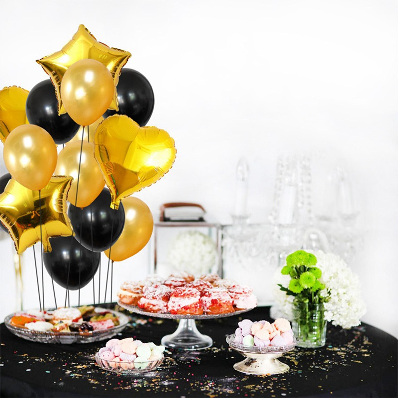 14pcs-12-pouces-18-pouces-Multi-Ballons-a-air-Decorations-de-ballon-a-l-039-hel-O2Q2 miniature 22