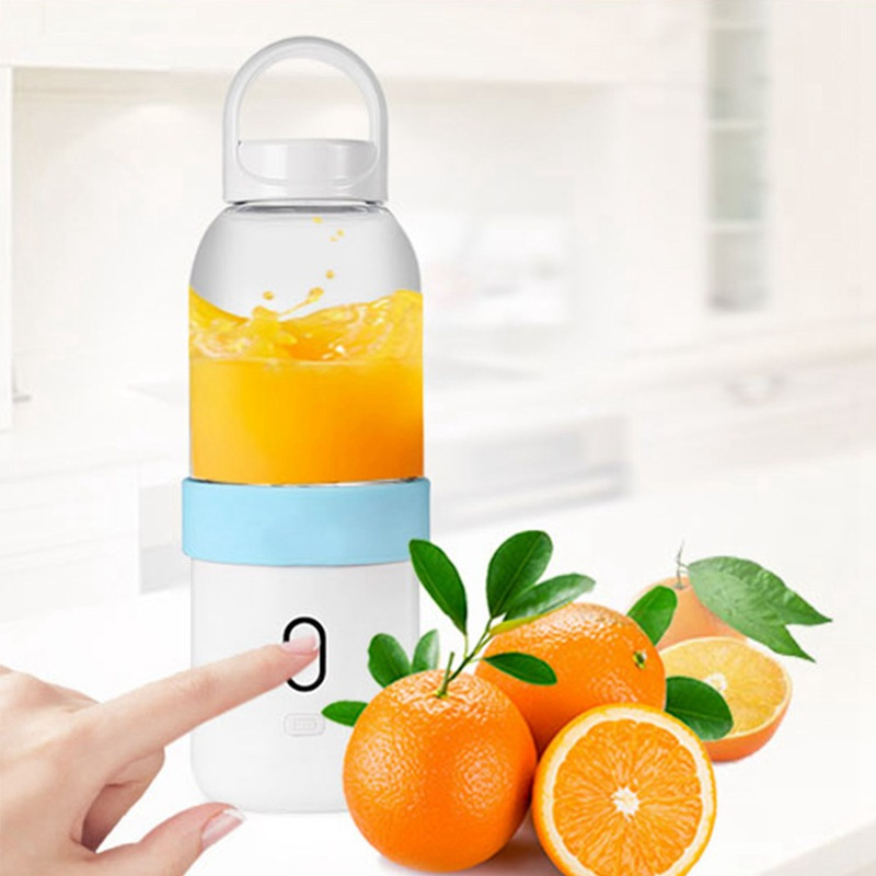 550ml-Licuadora-portatil-Copa-exprimidor-USB-Batidora-de-frutas-y-verduras-E7A7 miniatura 9