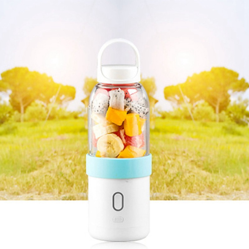 550ml-Licuadora-portatil-Copa-exprimidor-USB-Batidora-de-frutas-y-verduras-E7A7 miniatura 20