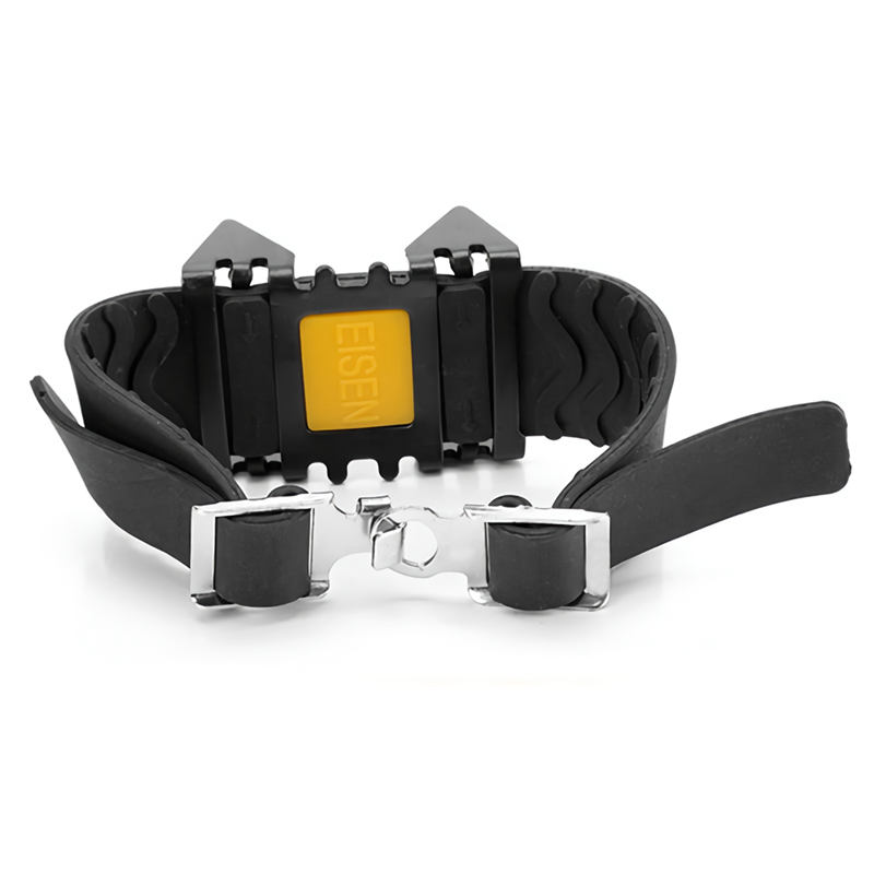 5X-Outdoor-Lightweight-Portable-Single-Band-Four-Teeth-Crampons-Simple-Skating-C