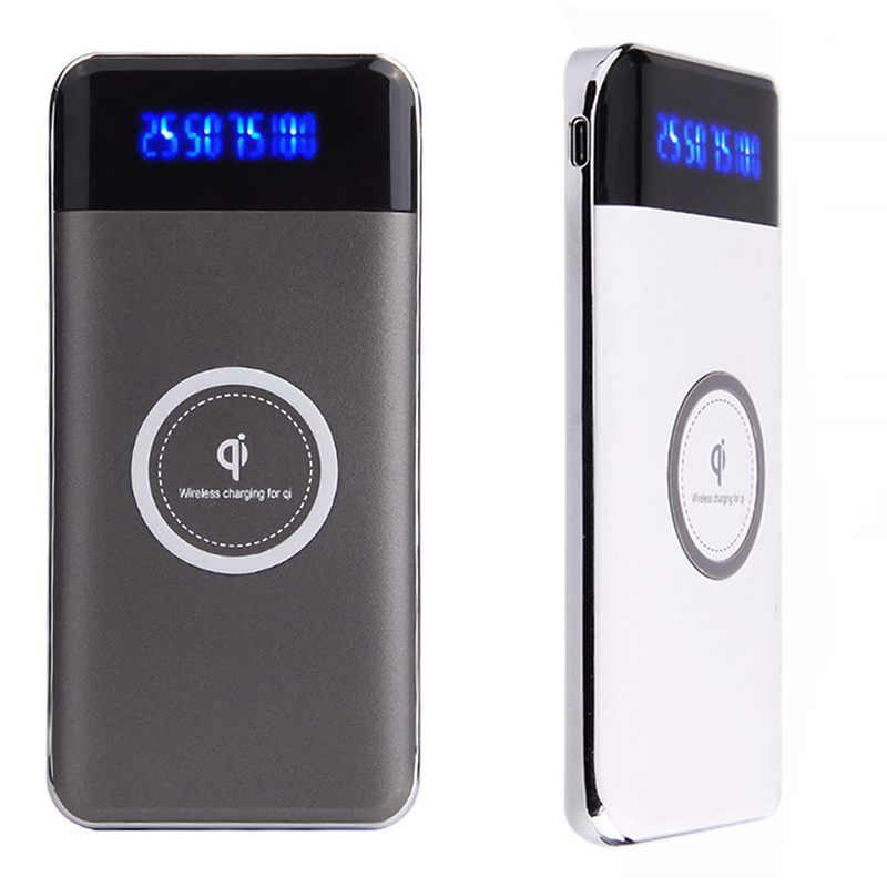 6f0f80ff040a69 Nice Design: Qi Charger with Rechargeable Battery Integrates a high-power  Qi wireless charging transmitter and 10000mAh rechargeable battery; ...