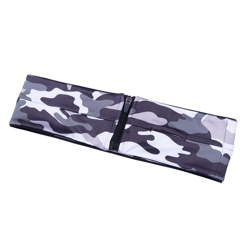 Camouflage-Running-Belt-Fitness-Waist-Belt-Key-Clip-Suitable-for-Gym-WorL1A8 thumbnail 3