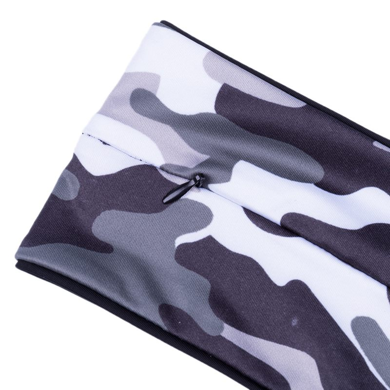 Camouflage-Running-Belt-Fitness-Waist-Belt-Key-Clip-Suitable-for-Gym-WorL1A8 thumbnail 8