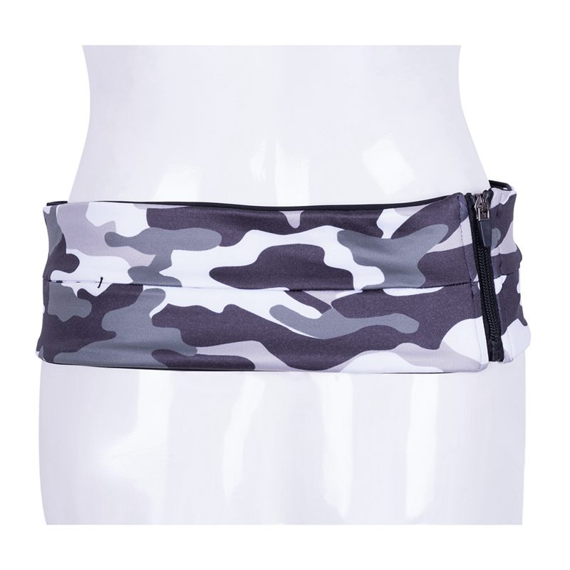 Camouflage-Running-Belt-Fitness-Waist-Belt-Key-Clip-Suitable-for-Gym-WorL1A8 thumbnail 9