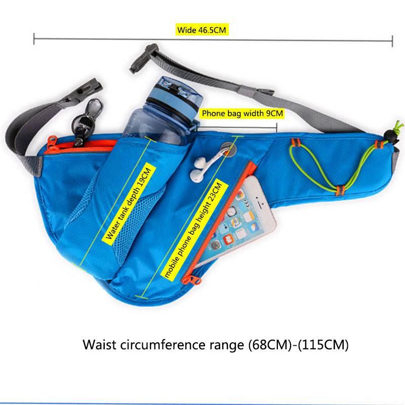 Marsupio da corsa con cintura idratante con porta - Porta acqua per termosifoni ...