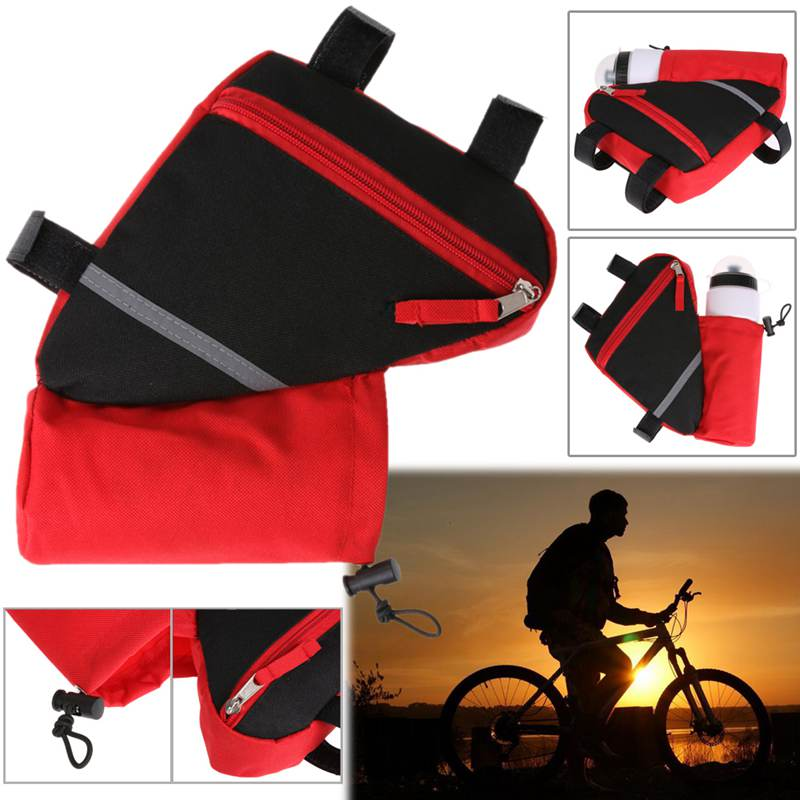 Bolsa-de-bicicleta-marco-de-bicicleta-de-triangulo-reflectante-ultraligero-H5E7 miniatura 7