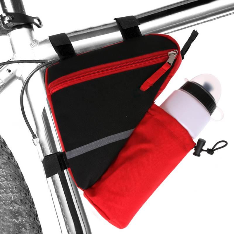 Bolsa-de-bicicleta-marco-de-bicicleta-de-triangulo-reflectante-ultraligero-H5E7 miniatura 13