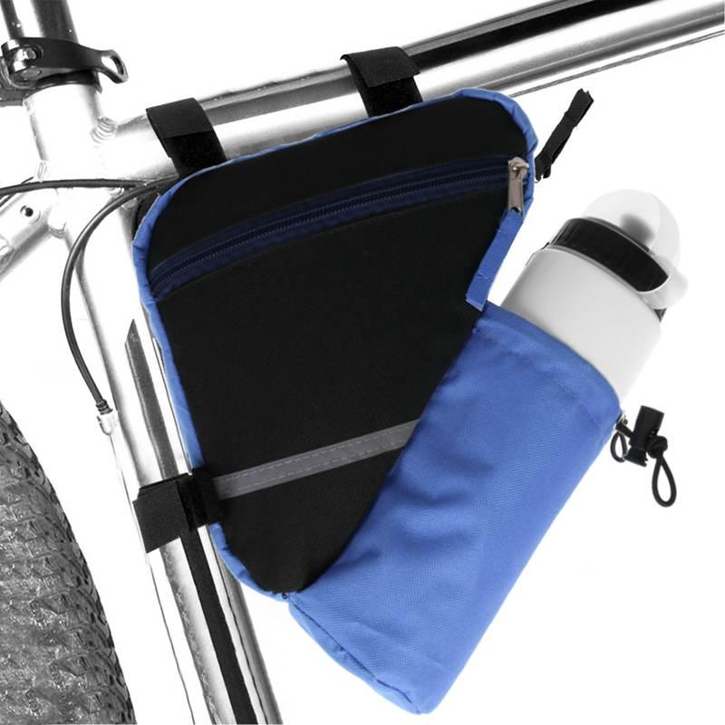Bolsa-de-bicicleta-marco-de-bicicleta-de-triangulo-reflectante-ultraligero-H5E7 miniatura 17